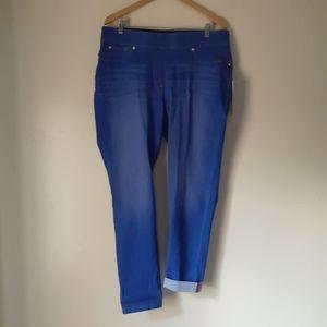 Nygard(plus sz18)360luxe pull-on curvy jeans BNWT